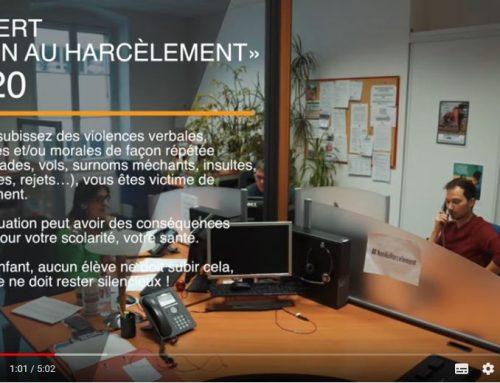 LE 3020 NON AU HARCÈLEMENT